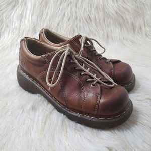 Dr. Martens Brown Leather Shoes Size 9